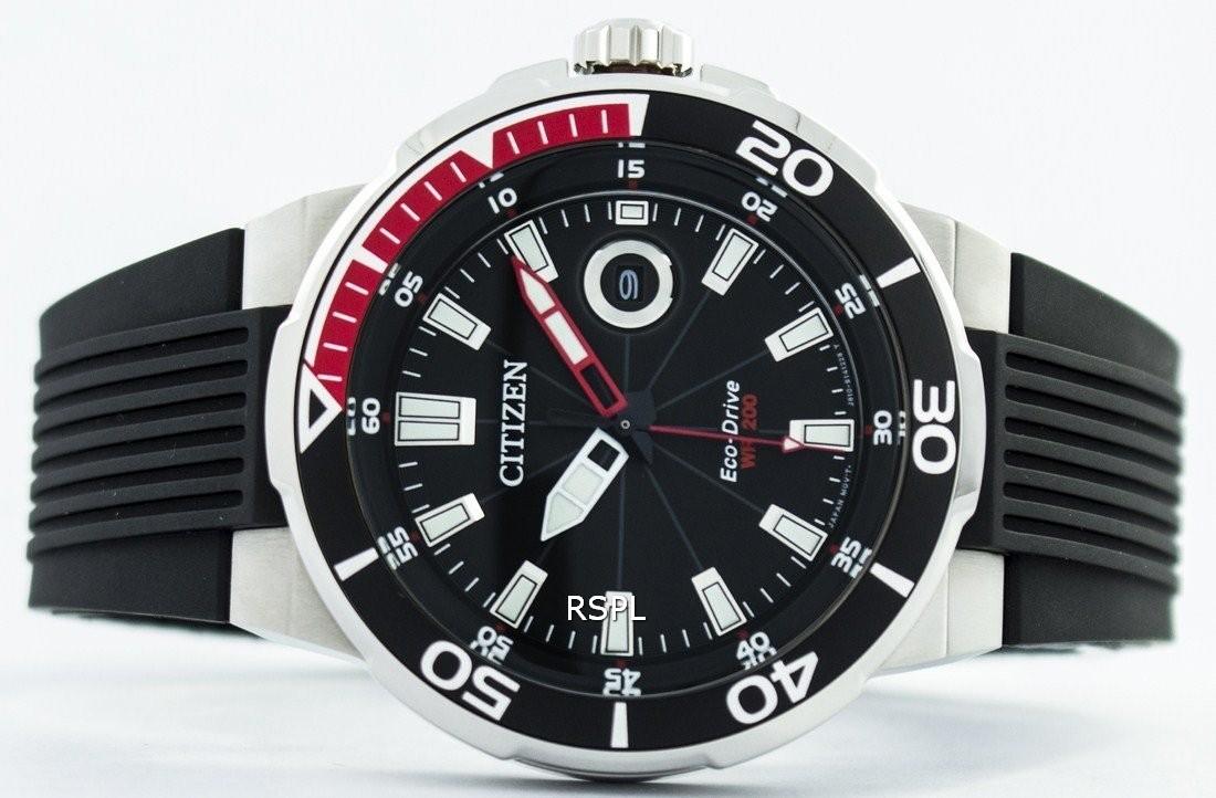 reloj hombre citizen AW1420-04E - reloj negro hombres - relojes buceo hombre - donde comprar relojes buceo alicante - donde comprar relojes citizen alicante - joyeria marga mira - relojeria marga mira