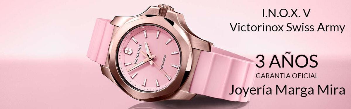 donde comprar online reloj victorinox inox v-241087- tienda relojerias online alicante - joyeria-marga mira - mejor precio relojes victorinox