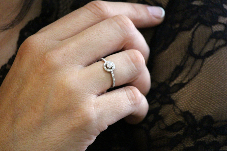donde comprar anillos compromiso alicante - joyeria marga mira - anillos oro blanco alicante