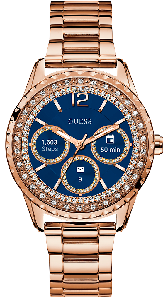 0ab0e3c27 Relojes inteligentes Guess Connect de moda para damas y caballeros.