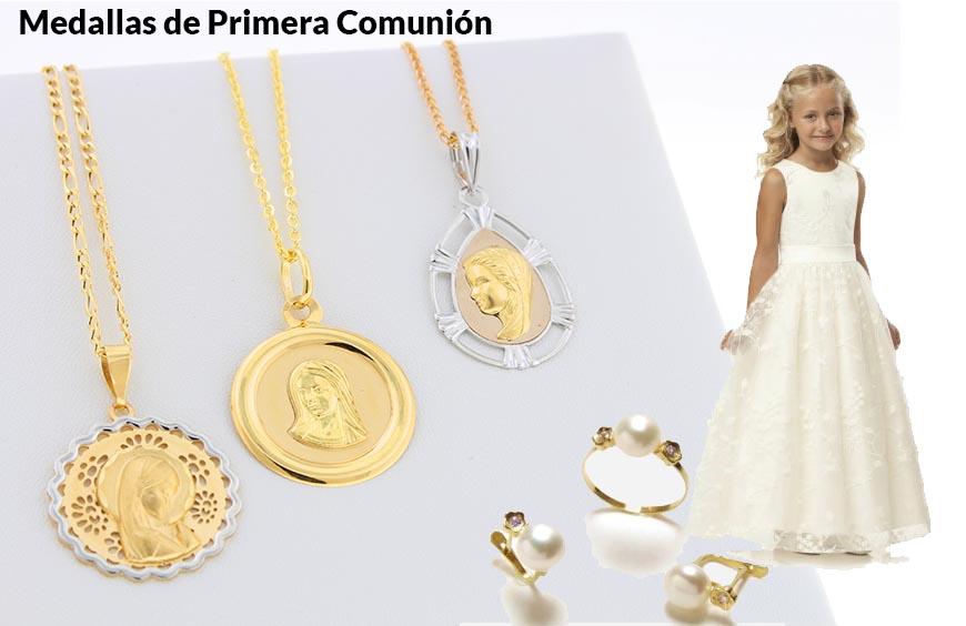 donde comprar joyas primera comunion alicante - cruces primera comunion alicante - precios medallas comunion alicante - precio cadenas oro comunion alicante - joyerias alicante - joyeria marga mira