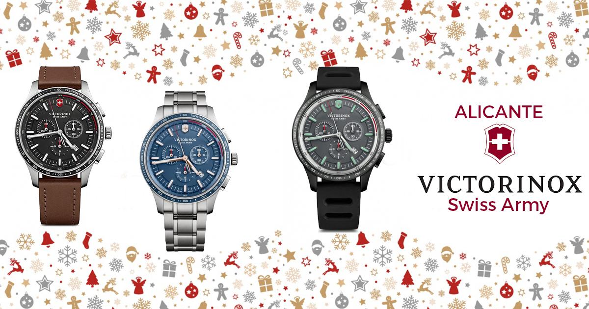 donde comprar relgalos navidad hombres alicante - joyeria marga mira - tiendas relojes alicante - mejores relojerias alicante - tiendas victorinox españa