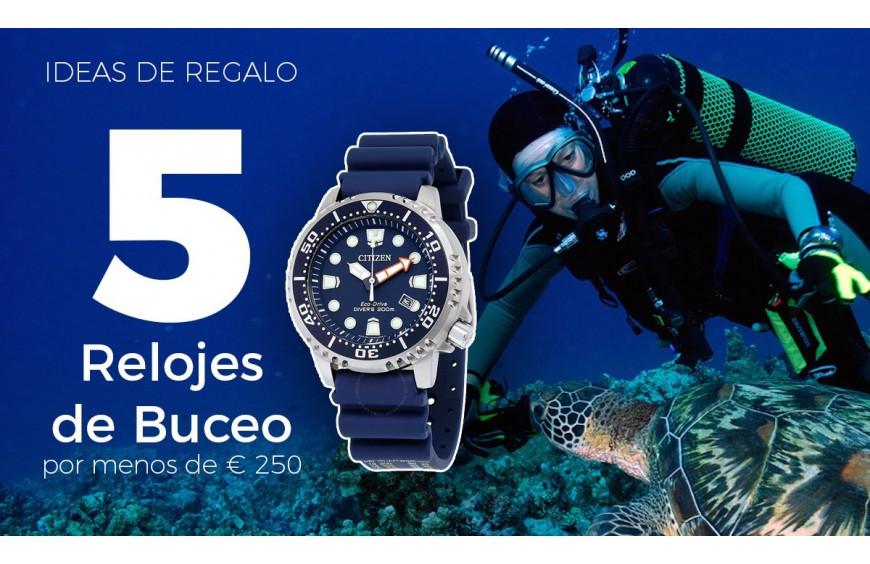 5 Relojes de Buceo promaster con Eco Drive que puedes comprar online por menos de 250 euros